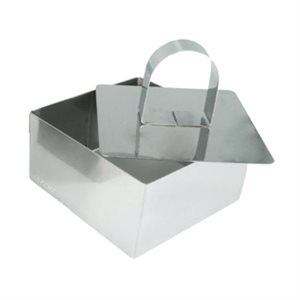 Square Mousse Molds 4 Inches Wide