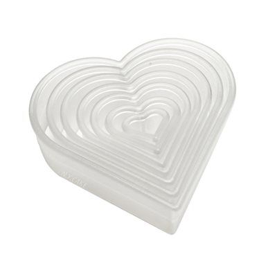Plain Heart Cookie and Pastry Cutter