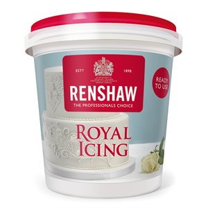 Royal Icing Ready to Use 14 Ounces By Renshaw