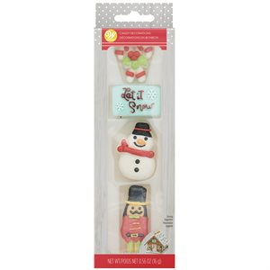 Christmas Outdoor Royal Icing Decorations