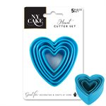 Heart Shape Fondant, Pastry and Cookie Cutters