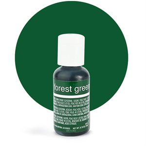 Forest Green Liqua-Gel Color - .70 ounce By Chefmaster