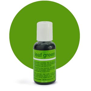 Leaf Green Liqua-Gel Color - .70 ounce By Chefmaster