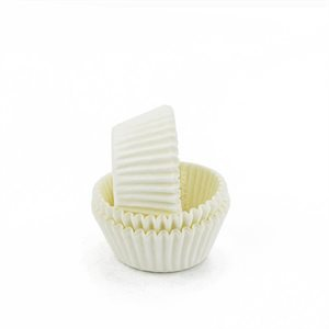 White Greaseproof Mini Cupcake Baking Cup Liner