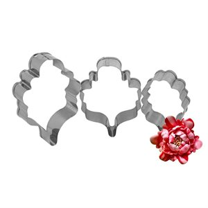 Oriental Peony Cutter Set By Colette Peters