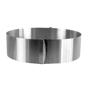Round Flex Adjustable Cake Ring / Mousse Mold