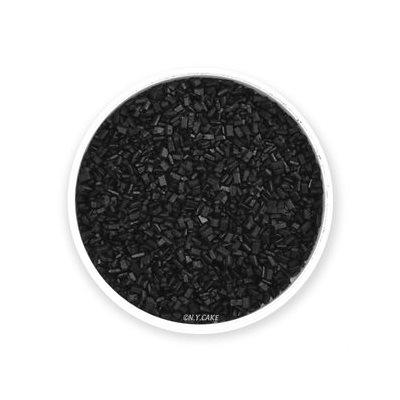 Black Natural Coarse Sugar Crystals