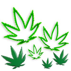 Marijuana Cannabis Leaf Cutter