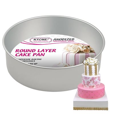 Round Cake Pan 10 by 4 Inch Deep