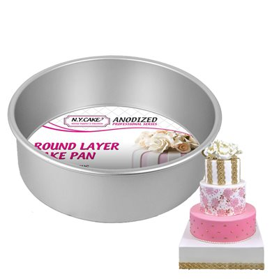 Round Cake Pan 9 by 3 Inch Deep