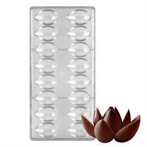 Lotus Petal Polycarbonate Chocolate Mold