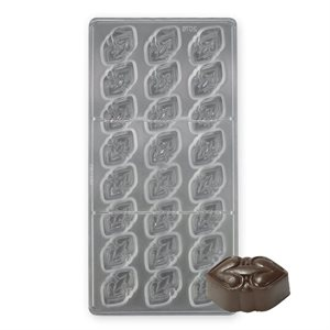 Heart To Heart Polycarbonate Chocolate Mold