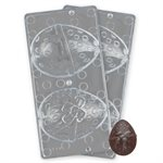 3D Large Easter Egg Polycarbonate Chocolate Mold