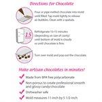 3D Santa Mold Polycarbonate Chocolate Mold
