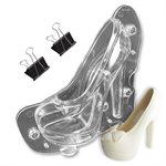 3D Platform Stiletto High Heel Shoe Polycarbonate Chocolate Mold
