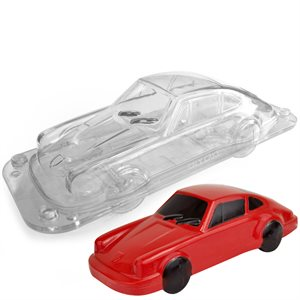 3D Race Car Polycarbonate Chocolate Mold