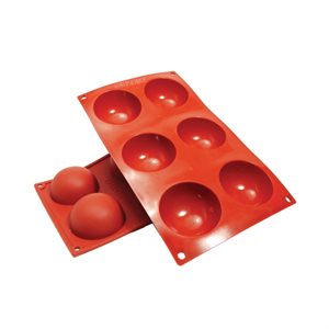 Hemisphere Silicone Baking Mold 2.7 Ounce
