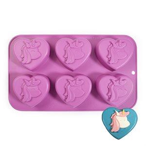 Unicorn Cupcake Silicone Pan