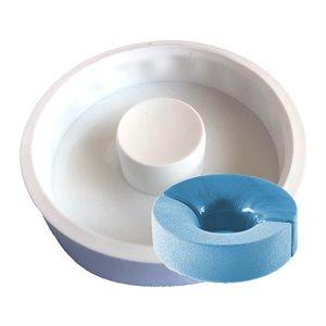 Donut Ring Silicone Baking & Freezing Mold 40.6 oz.