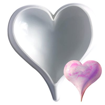 Pointed Heart Silicone Baking & Freezing Mold