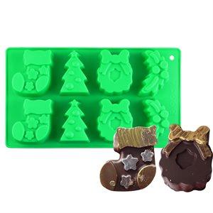 Christmas Theme Items Silicone Mold
