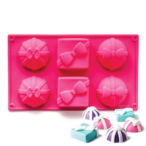 Assorted Gift Boxes Silicone Novelty Bakeware