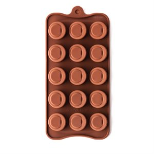 Sloped Cylinder Silicone Chocolate Mold Mold
