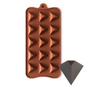 Pyramid Triangle Silicone Chocolate Mold