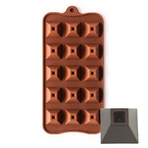Pyramid Shape Silicone Chocolate Mold