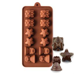 Holiday Set 1 Silicone Chocolate Mold