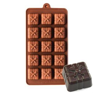 Gift Box #1 Silicone Chocolate Mold