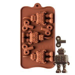 Robot Silicone Chocolate Mold