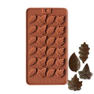 Leaf Medallions Silicone Chocolate Mold