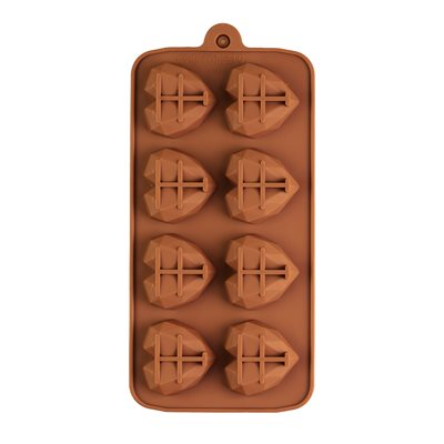 Gem Heart Silicone Mold 8 Cavity