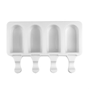 """Silicone Mold for Cakesicles, """"Classic Bar"""" - 4 Cavity"""