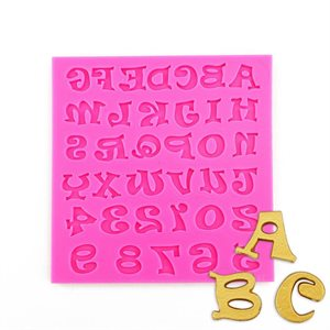 Funky Letters Alphabet