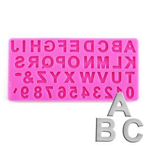 Uppercase Alphabet Silicone Fondant Mold