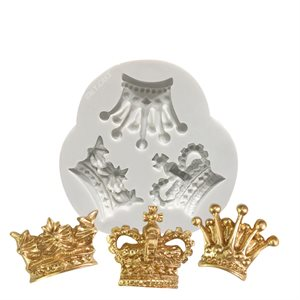 Royal Crown Trio Silicone Mold