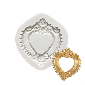 Heart Frame Silicone Mold