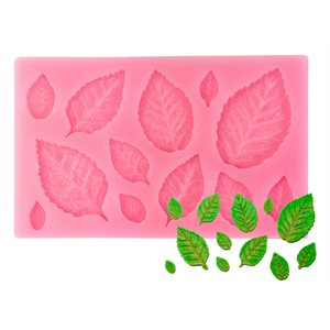 Leaves Silicone Mold-12 Cavity