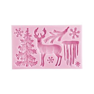 Reindeer Christmas Silicone Mold