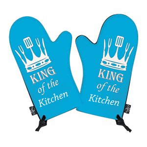 King of the Kitchen Oven Mitt