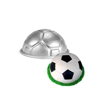 Ball Cake Soccer Pan 2 3 / 4 Inch