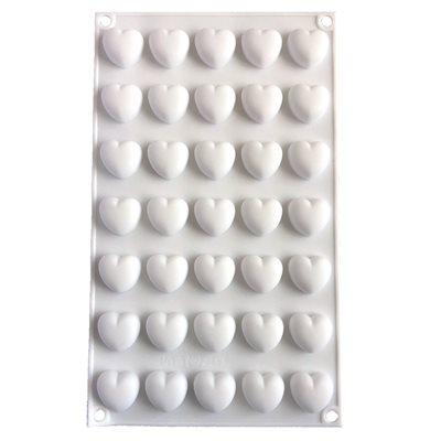 Mini Heart Silicone Baking & Freezing Mold .17 oz.