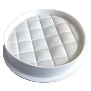 Quilted Round Silicone Baking & Freezing Mold