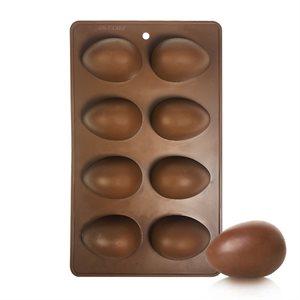 Silicone Baking Mold-Egg Shape 8 Cavity