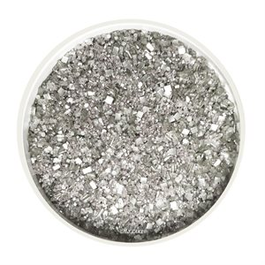 Silver Glittery Sugar 3 Ounces