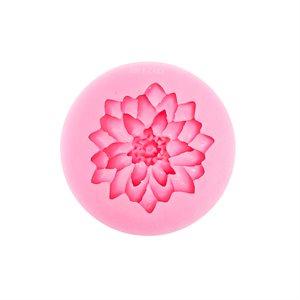 Carnation /  Dahlia Silicone Fondant Mold