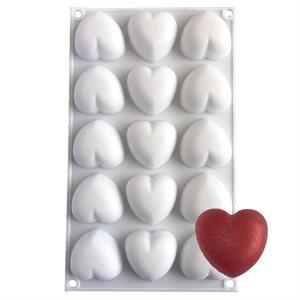 Mini Pillow Heart Silicone Baking & Freezing Mold