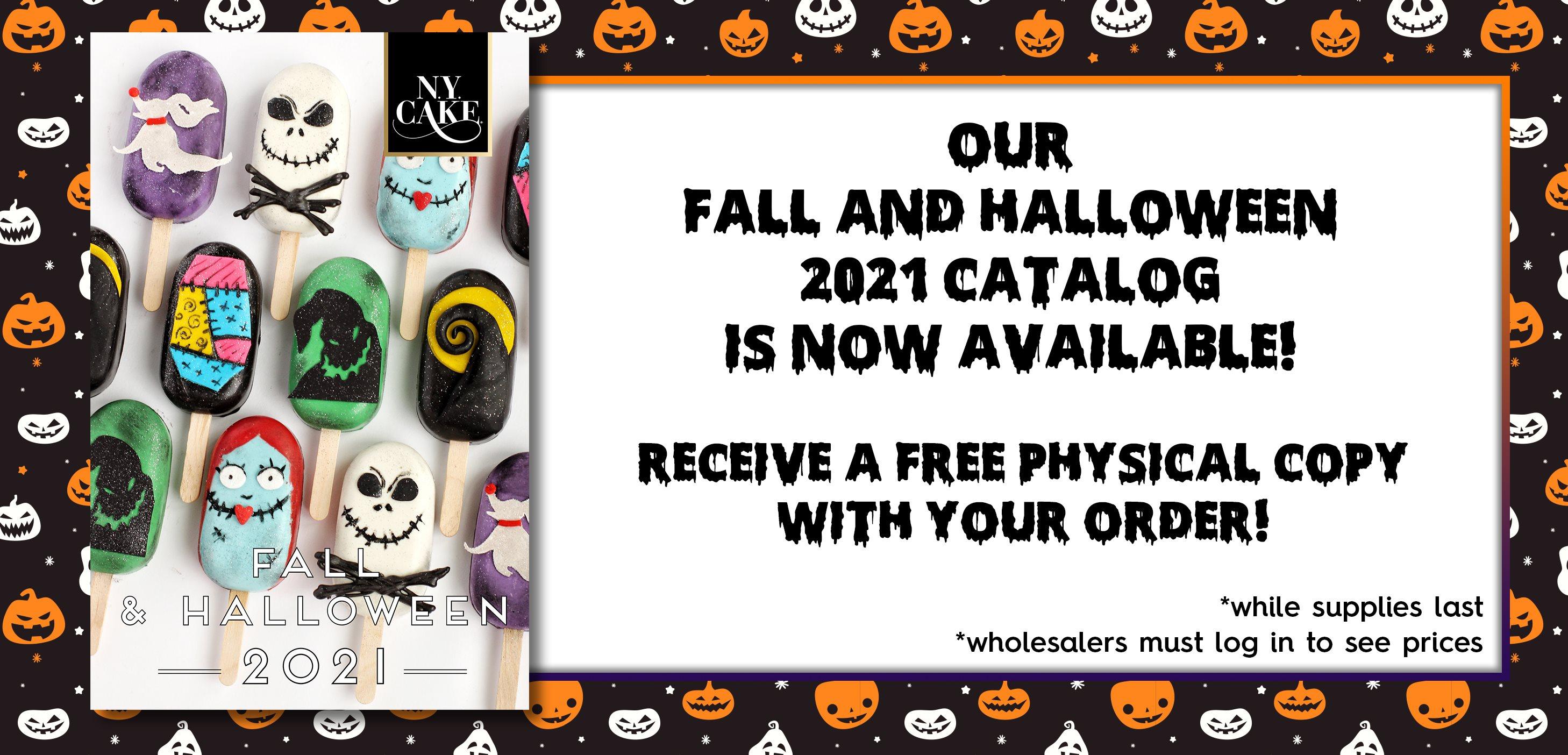 Fall Halloween Product Catalog 2021